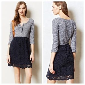 Anthropologie Lilka Casual Lace Marya Dress Size S